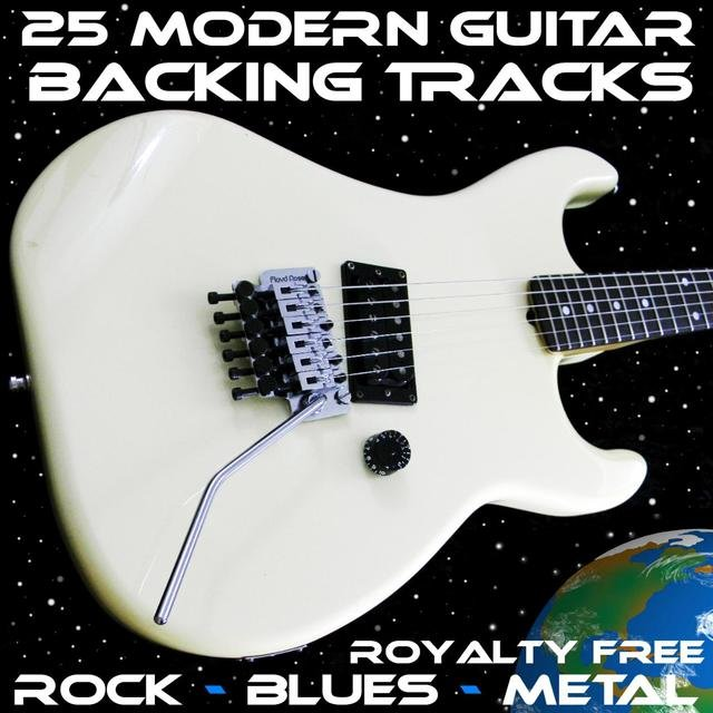 25 Modern Royalty Free Guitar Backing Tracks Rock Blues