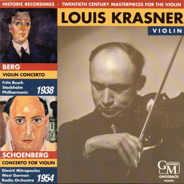Twentieth Century Masterpieces for the Violin: Works by Berg
