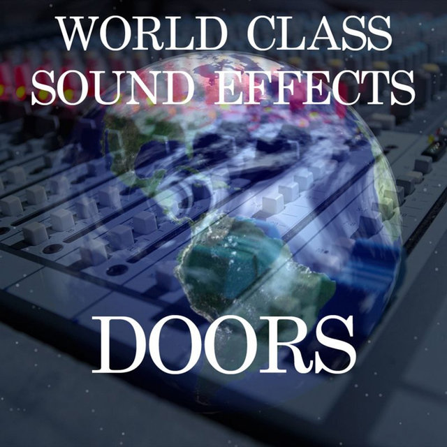 Door Knock Wood Glass Old Antique Bangs Studdery House Sound Effects