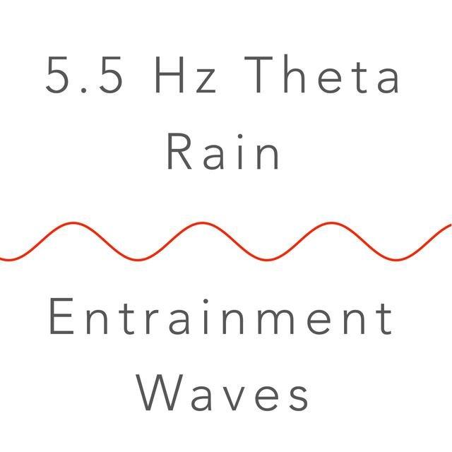 Listen to 5 5 Hz Theta Binaural Beat and Rain: Meditation