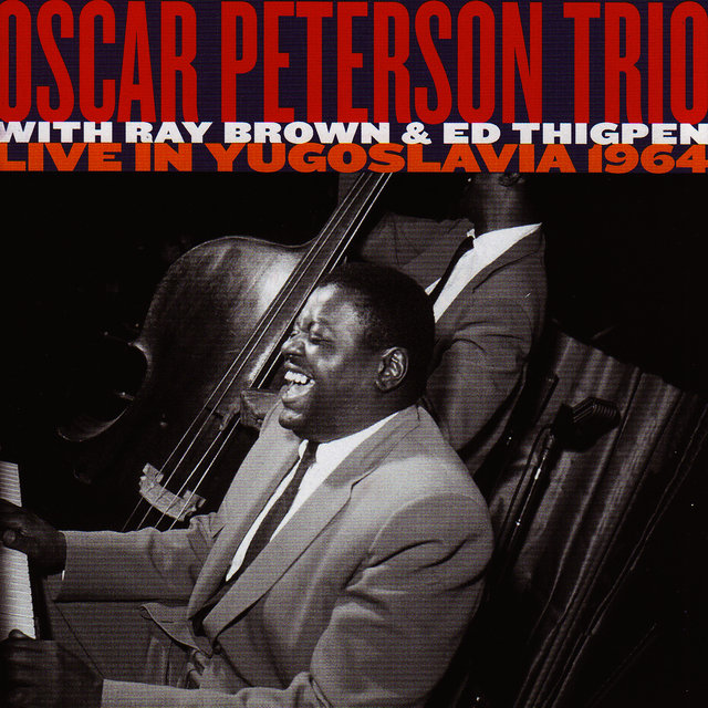 Image result for Oscar Peterson Trio Live in Yugoslavia 1964