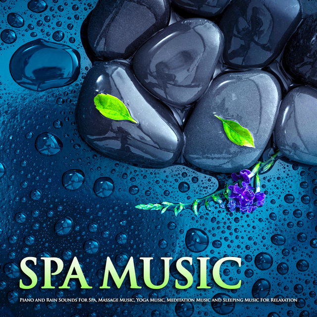 Spa Music: Piano and Rain Sounds For Spa, Massage Music