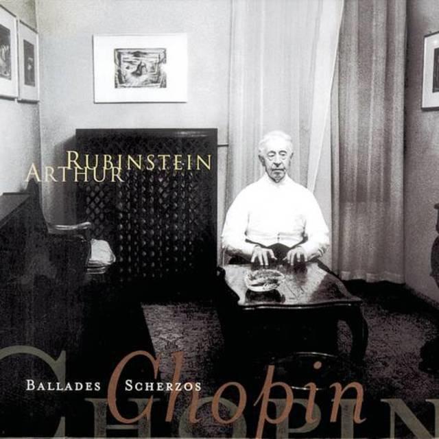 Rubinstein Collection, Vol  45 :Chopin: Ballades, Scherzi