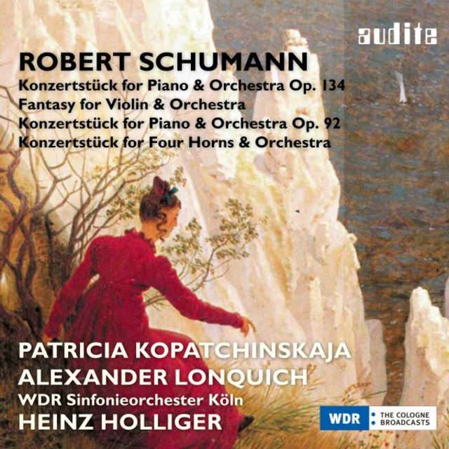 Listen to Schumann: Fantasy for Violin and Orchestra