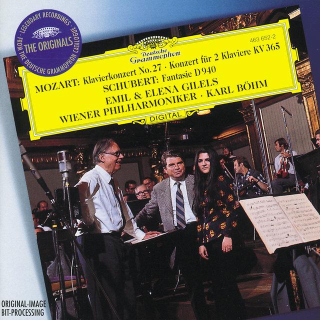 Schubert: Fantasy In F Minor, D  940 (Op 103) For Piano Duet