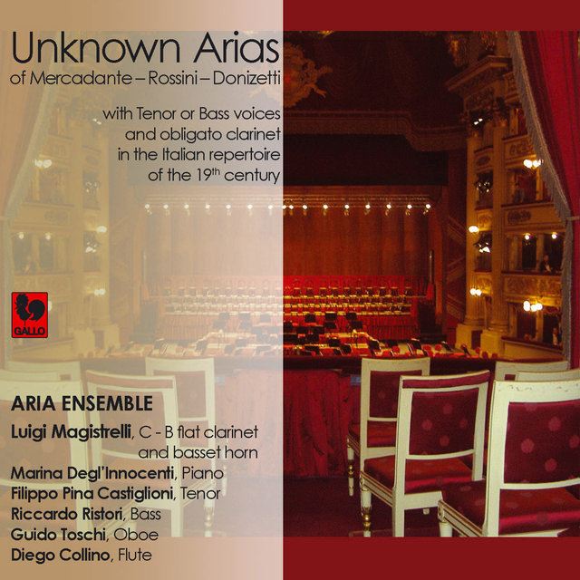 Listen to Donizetti - Rossini - Mercadante: Unknown Arias