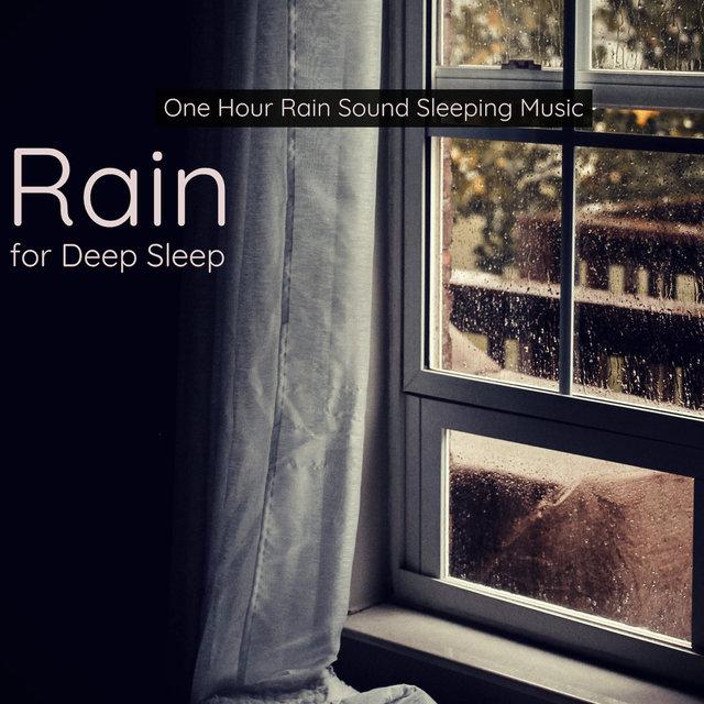 Rain for Deep Sleep - One Hour Rain Sound Sleeping Music by
