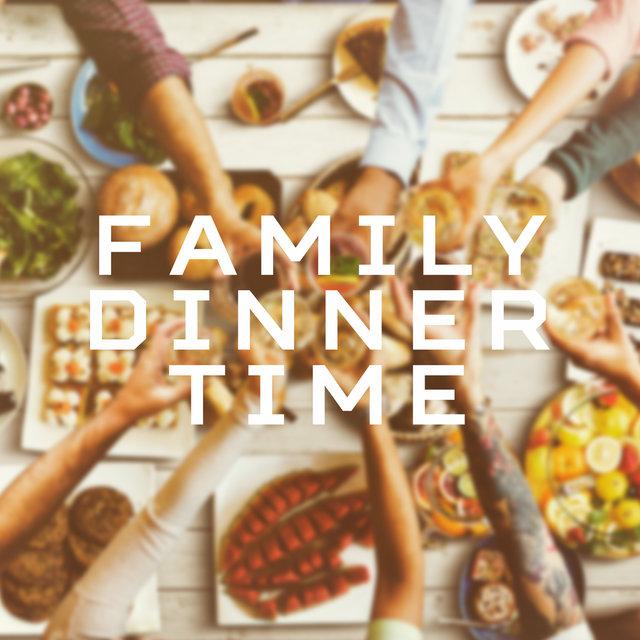 Family Dinner Time: Smooth Instrumental Vintage Jazz Music