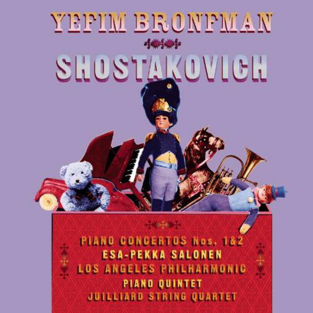 Shostakovich: Piano Concertos Nos  1 & 2, Piano Quintet/Yefim