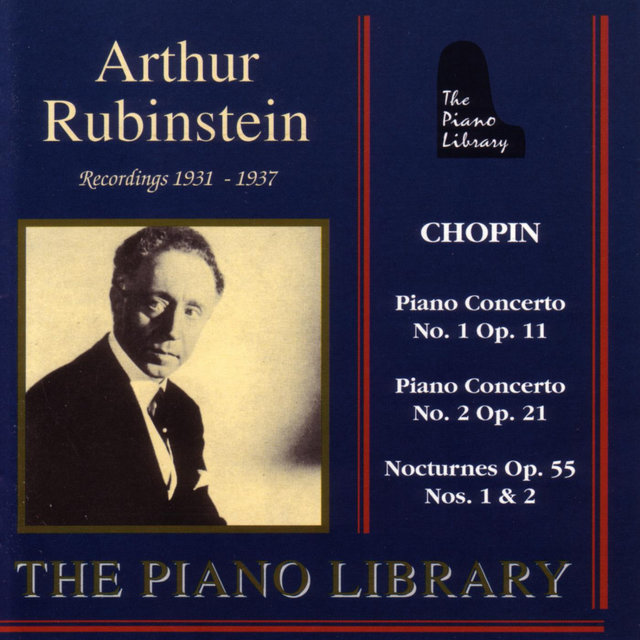 Arthur Rubinstein - Recordings 1931 - 1937 by Arthur
