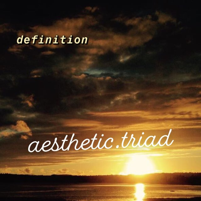 Listen to Aesthetic Triad by Definition on TIDAL