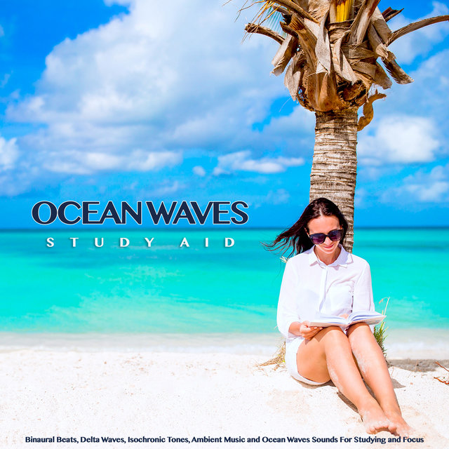 Ocean Waves Study Aid: Binaural Beats, Delta Waves