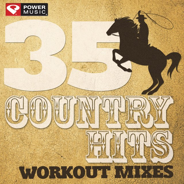 Listen to 35 Country Hits - Workout Mixes (Unmixed Workout Music