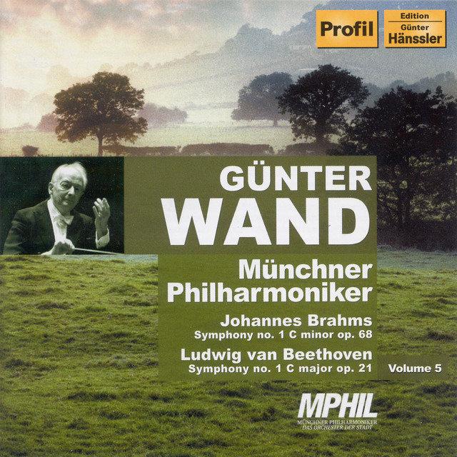 Brahms: Symphony No  1 / Beethoven: Symphony No  1 by Günter Wand on