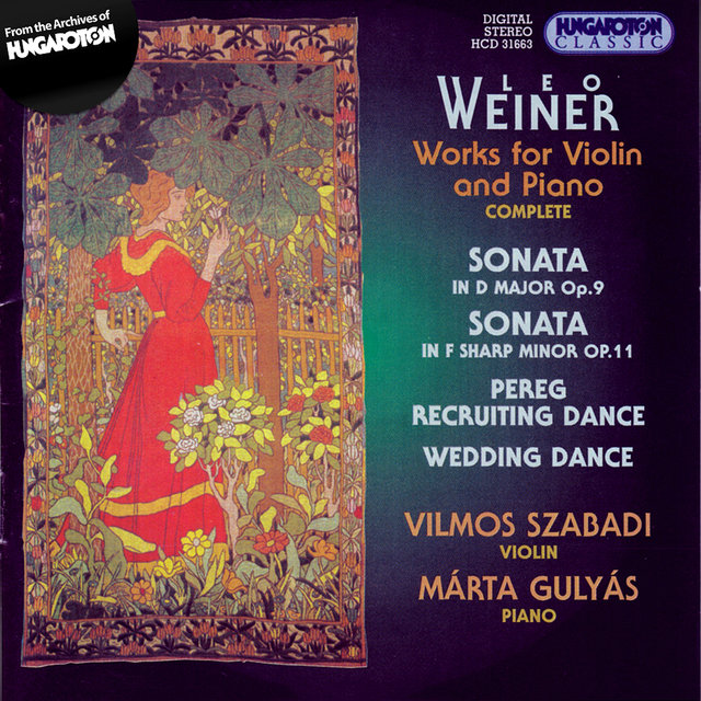 Weiner: Works for Violin and Piano (Complete) by Vilmos