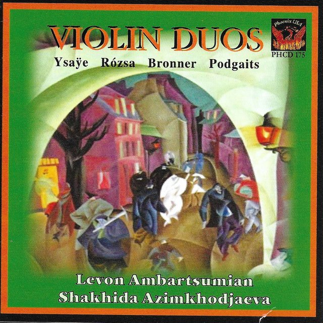 Violin Duos by Levon Ambartsumian on TIDAL
