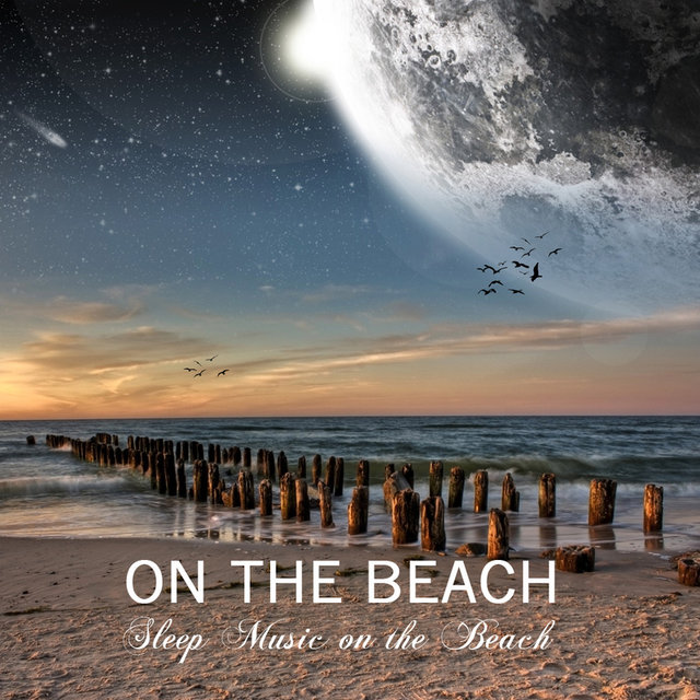 Relax, Music Piano and Gentle Sea Waves Nature Sound for