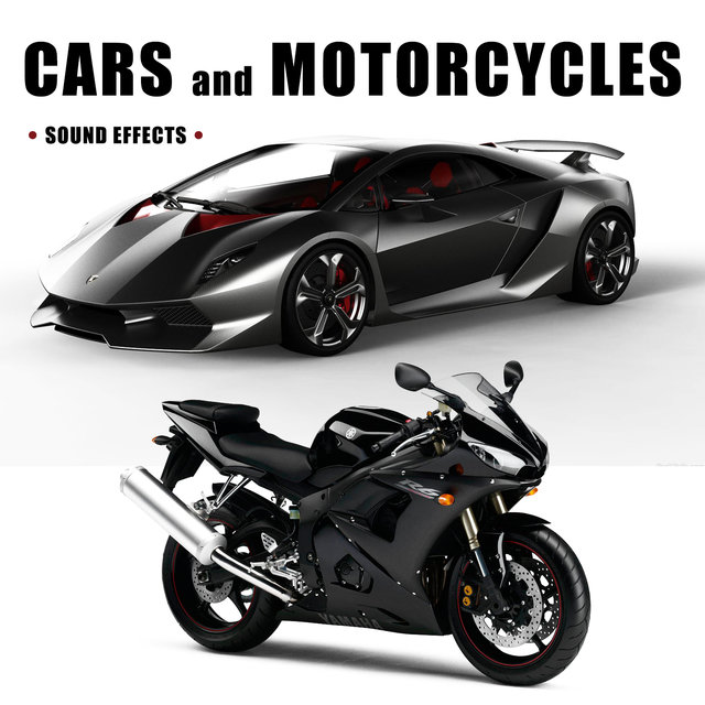 Listen to Cars and Motorcycles Sound Effects by Sound