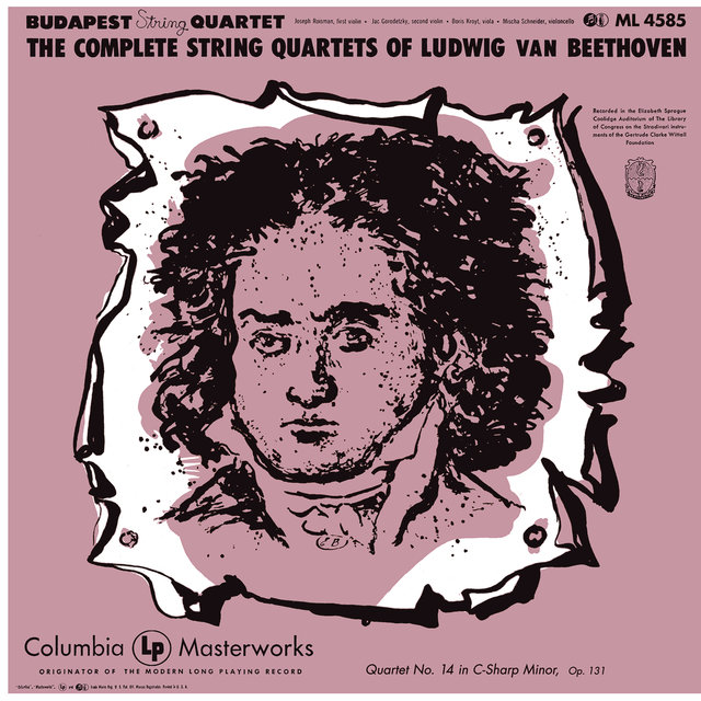 Listen to Beethoven: String Quartet No  14 in C-Sharp Minor, Op  131