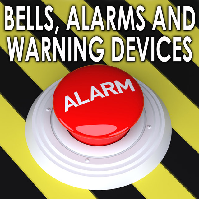Long Fire Alarm Bell Ringing Continuously, High Pitched by