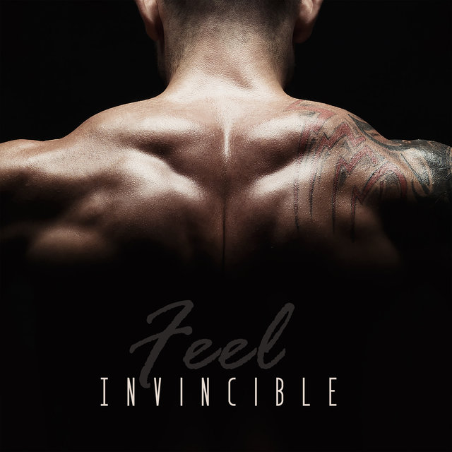 Listen to Feel Invincible: Music for Strength Training by Running