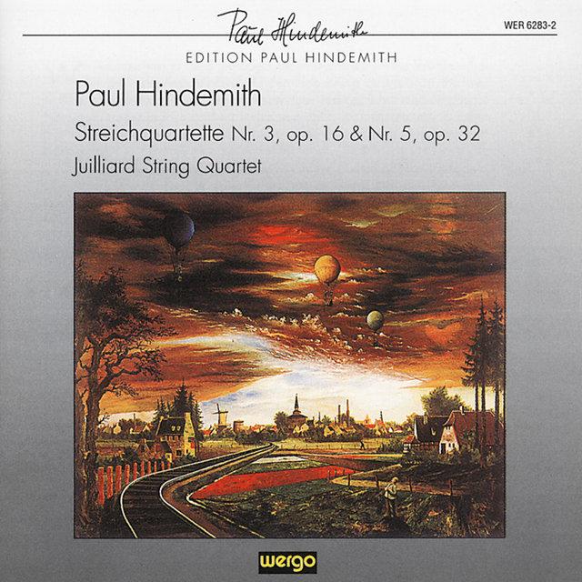 Hindemith: String Quartet No  3, Op  16 - String Quartet No  5, Op