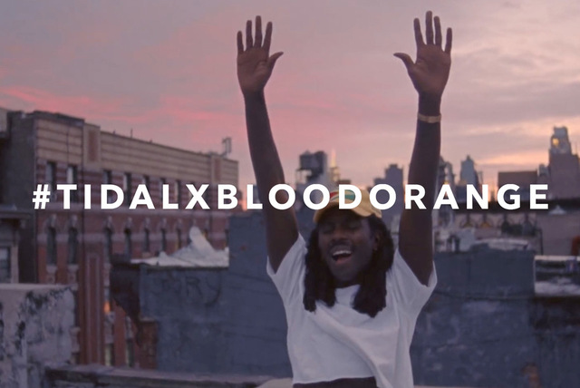 TIDAL X: Blood Orange Announcement