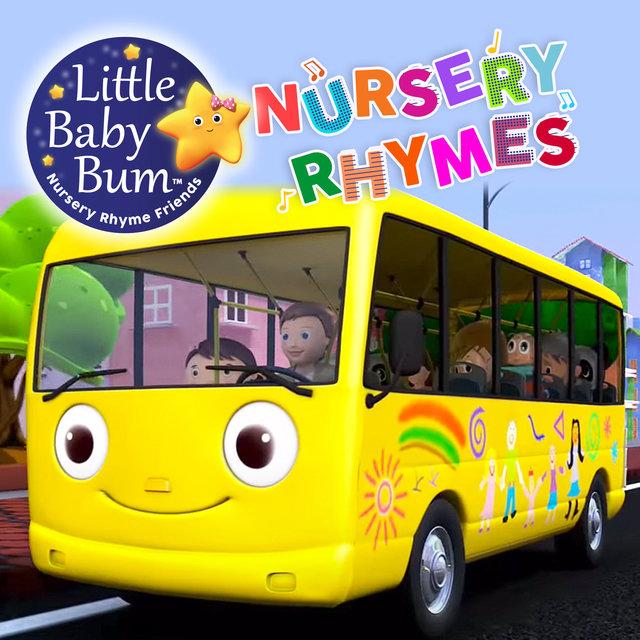 wheels on the bus little baby bum purple