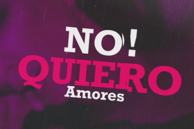 No Quiero Amores (Official Lyric Video)