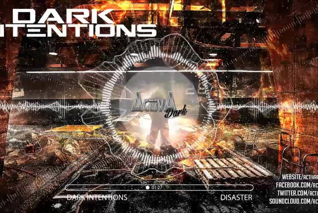 Dark Intentions - Disaster (Original Mix) - Official Preview (Activa Dark)