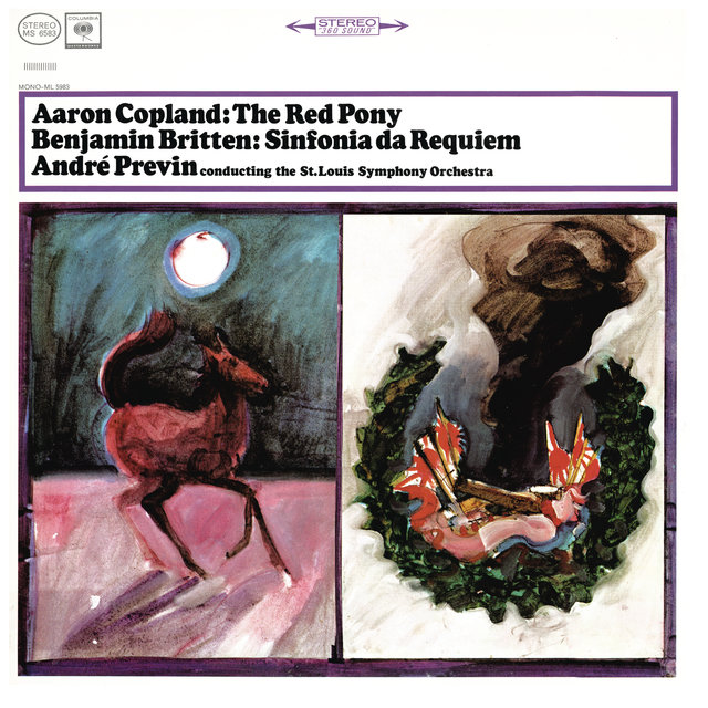 Copland: The Red Pony & Britten: Sinfonia da Requiem, Op. 20