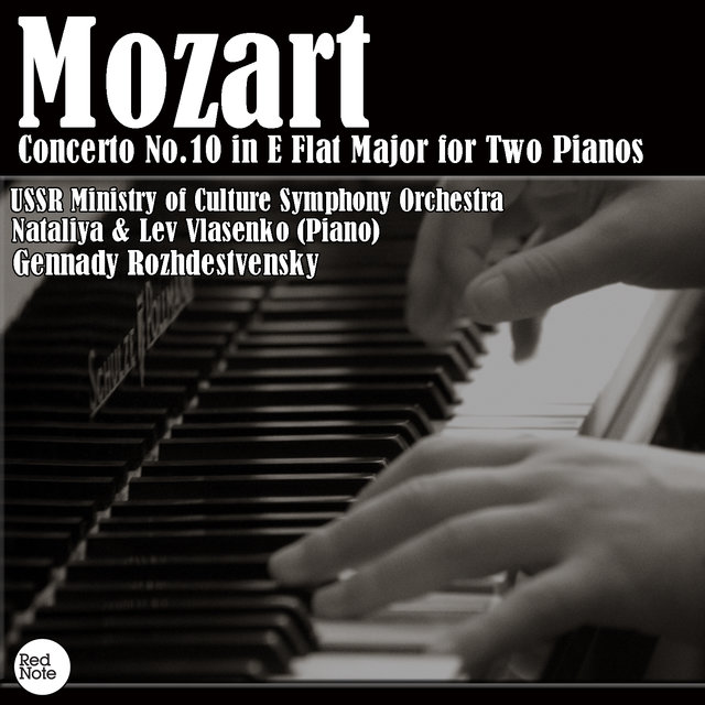 Mozart: Concerto No.10 in E Flat Major for Two Pianos