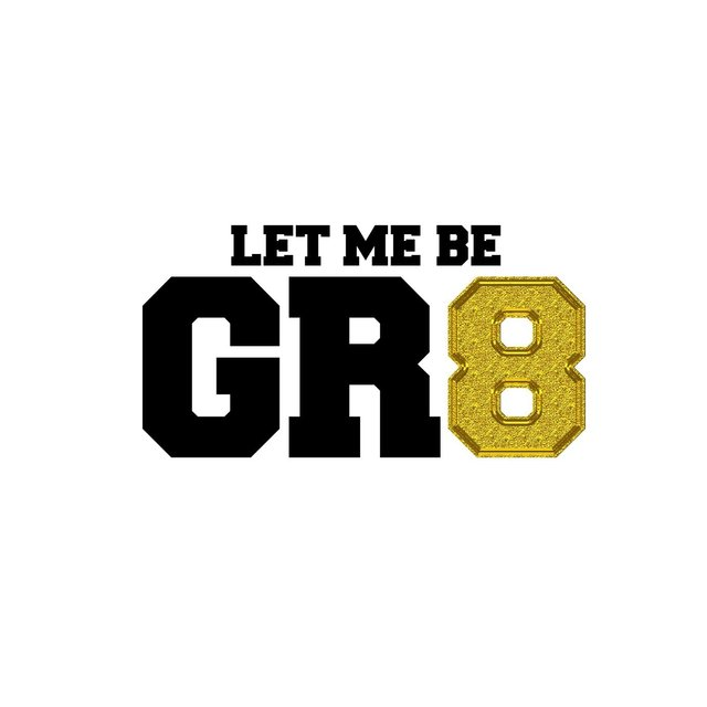 Let Me Be Gr8 (Radio Edit)