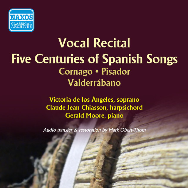 Five Centuries of Spanish Songs