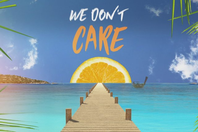 We Don't Care (Lyric Video)