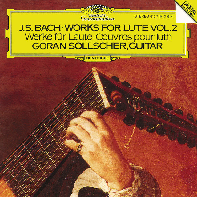 Bach, J.S.: Works for Lute Vol.2