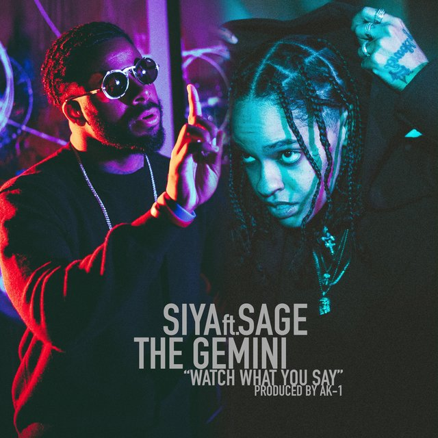 Watch What You Say (feat. Sage the Gemini)