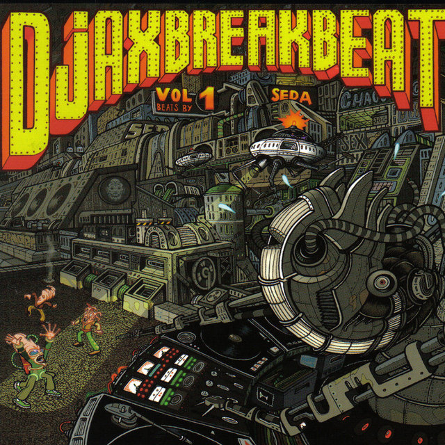 Djax-Break-Beatz Volume 1 by Seda