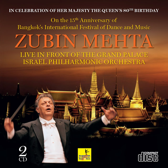 Zubin Mehta Live in Front of the Grand Palace Israel Philharmonic Orchestra