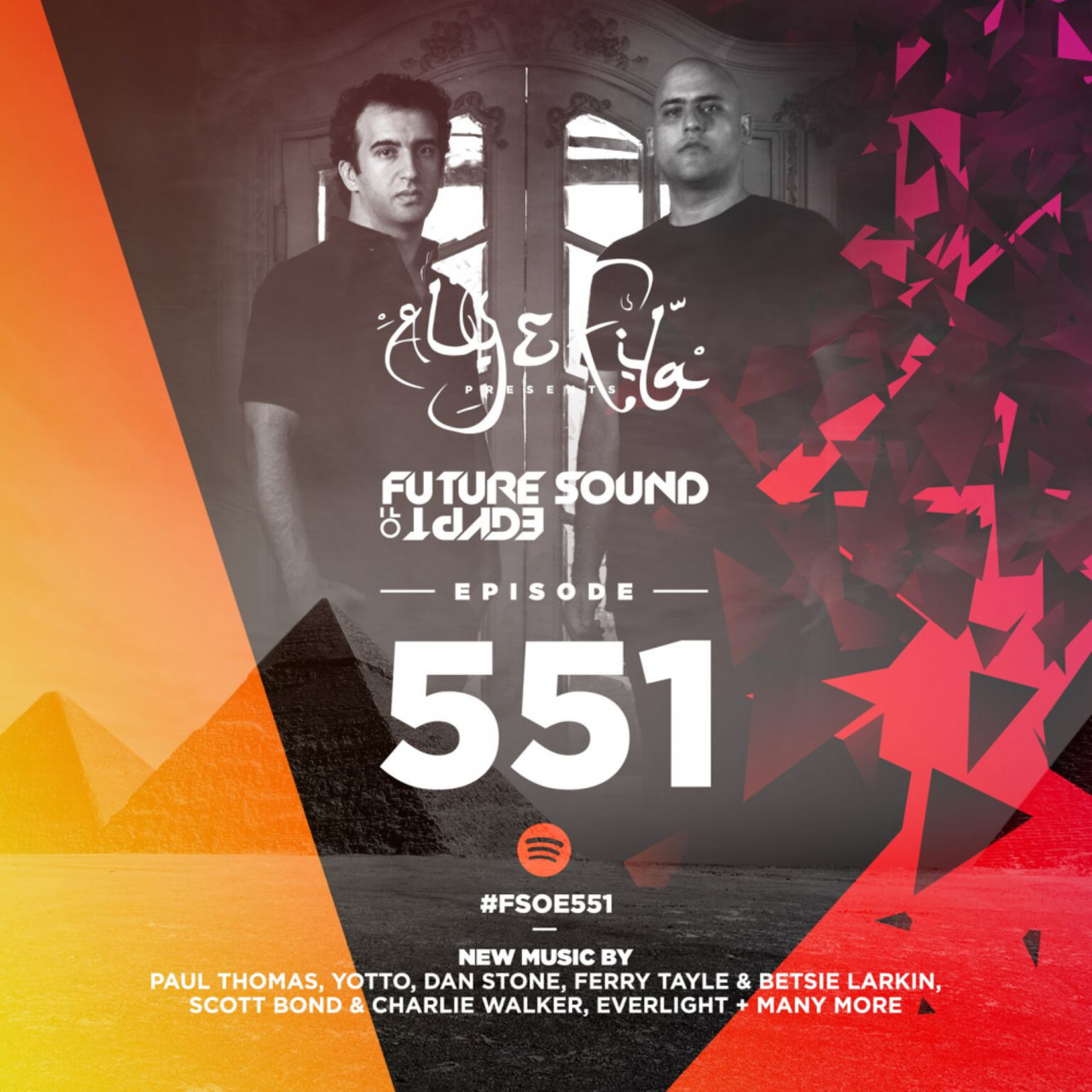 Future Sound Of Egypt Episode 551