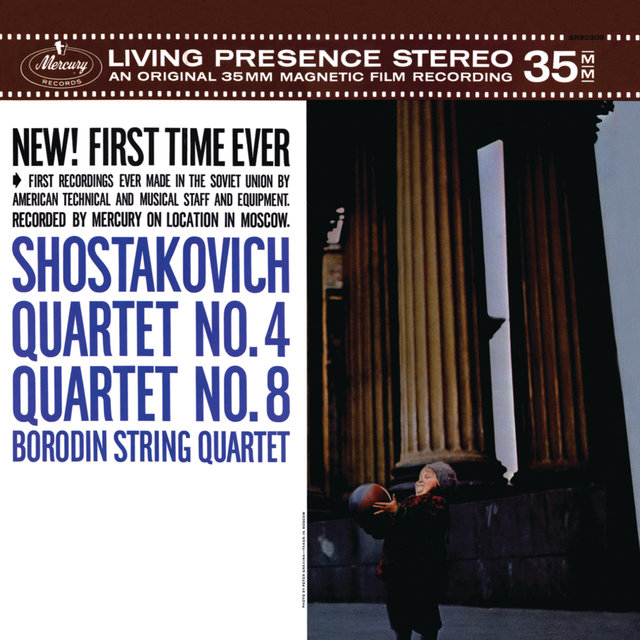 Shostakovich: Quartet No.4; Quartet No.8