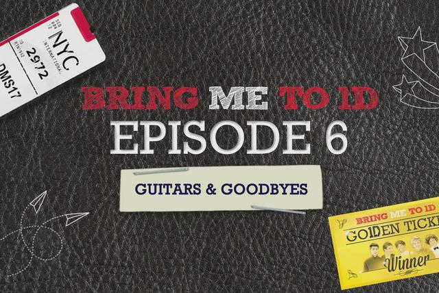 BRING ME TO 1D: GUITARS AND GOODBYES
