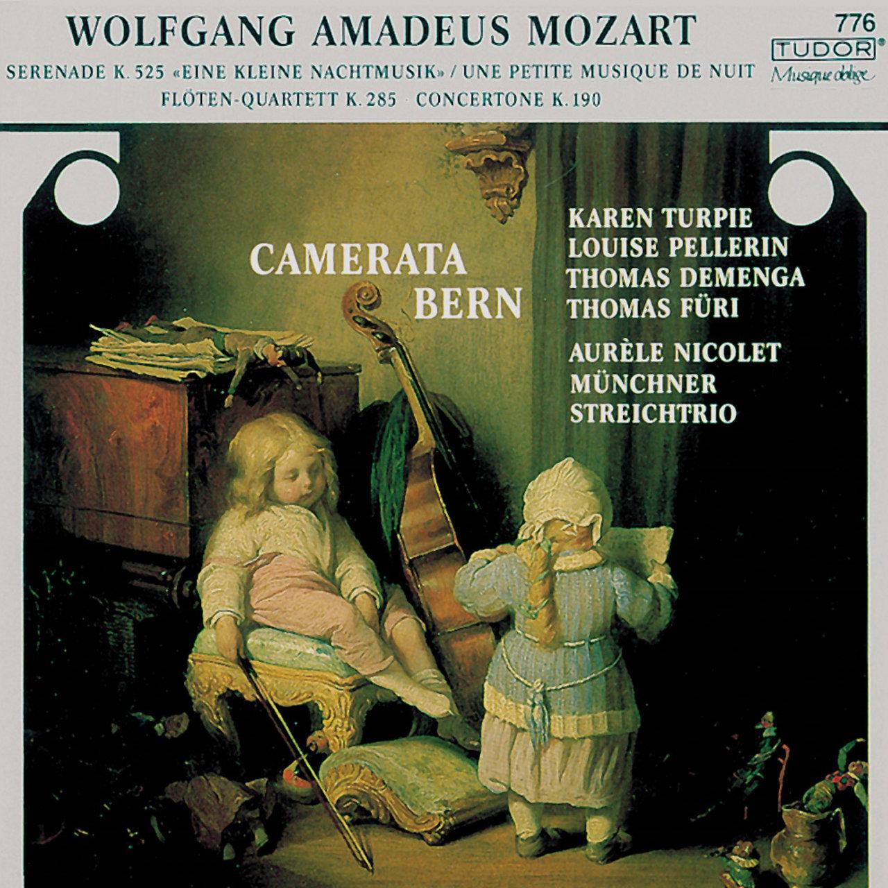 Tidal Listen To Mozart Eine Kleine Nachtmusik Concertone Flute Wiring Diagram Quartet No 1 On
