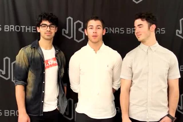 A message from Jonas Brothers