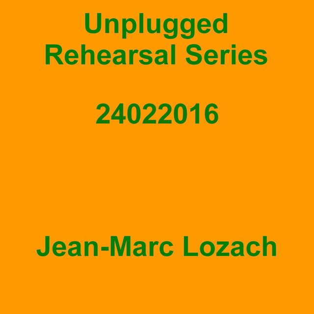 Unplugged Rehearsal Series Opus 286