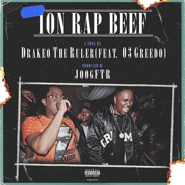 Ion Rap Beef (feat. 03 Greedo)