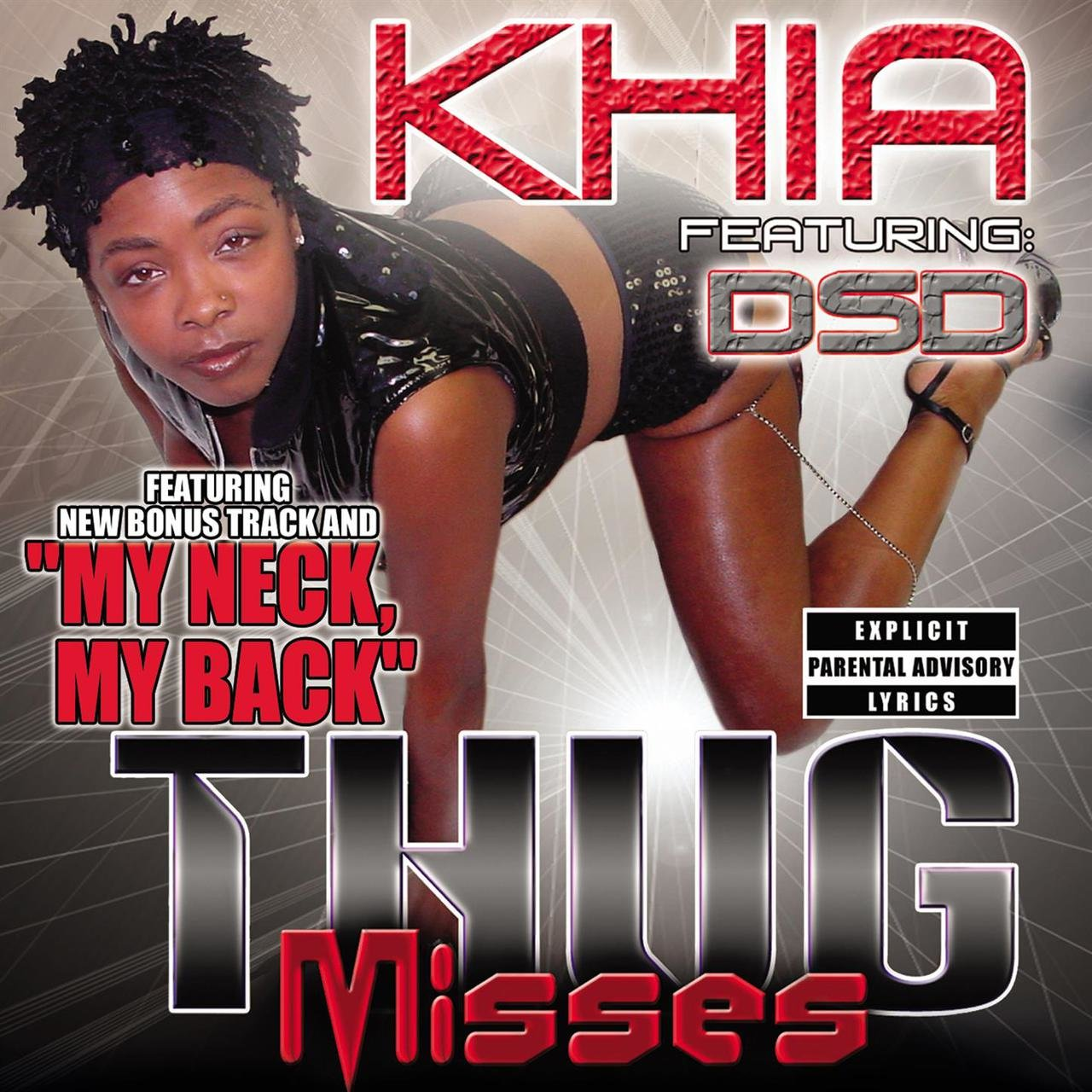 Khia lick it good sorry, that