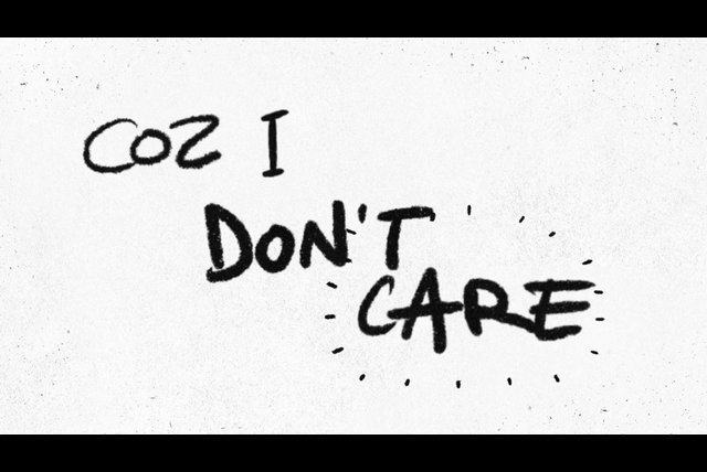 I Don't Care (Lyric Video)