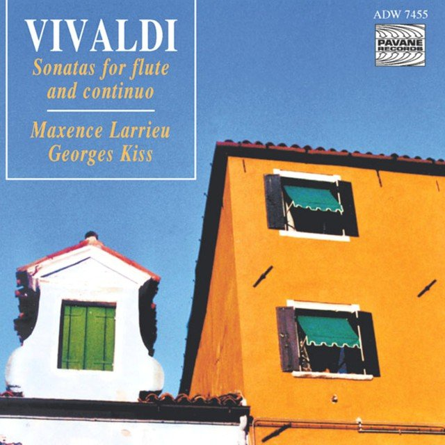 Vivaldi: Sonatas for Flute and Continuo