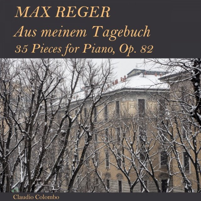 Max Reger: Aus meinem Tagebuch - 35 Pieces for Piano, Op. 82